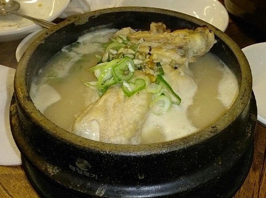 土俗村で参鶏湯