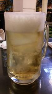 氷入りサッポロビール