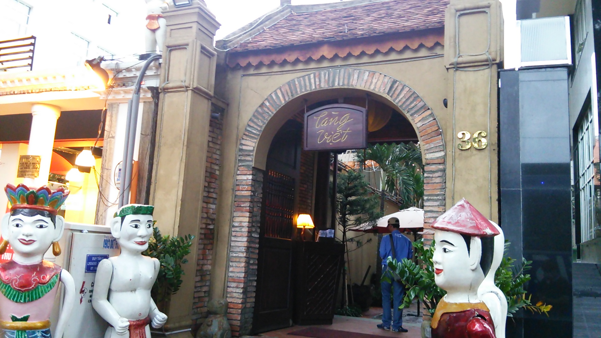 ベトナム ホーチミンの水上人形劇