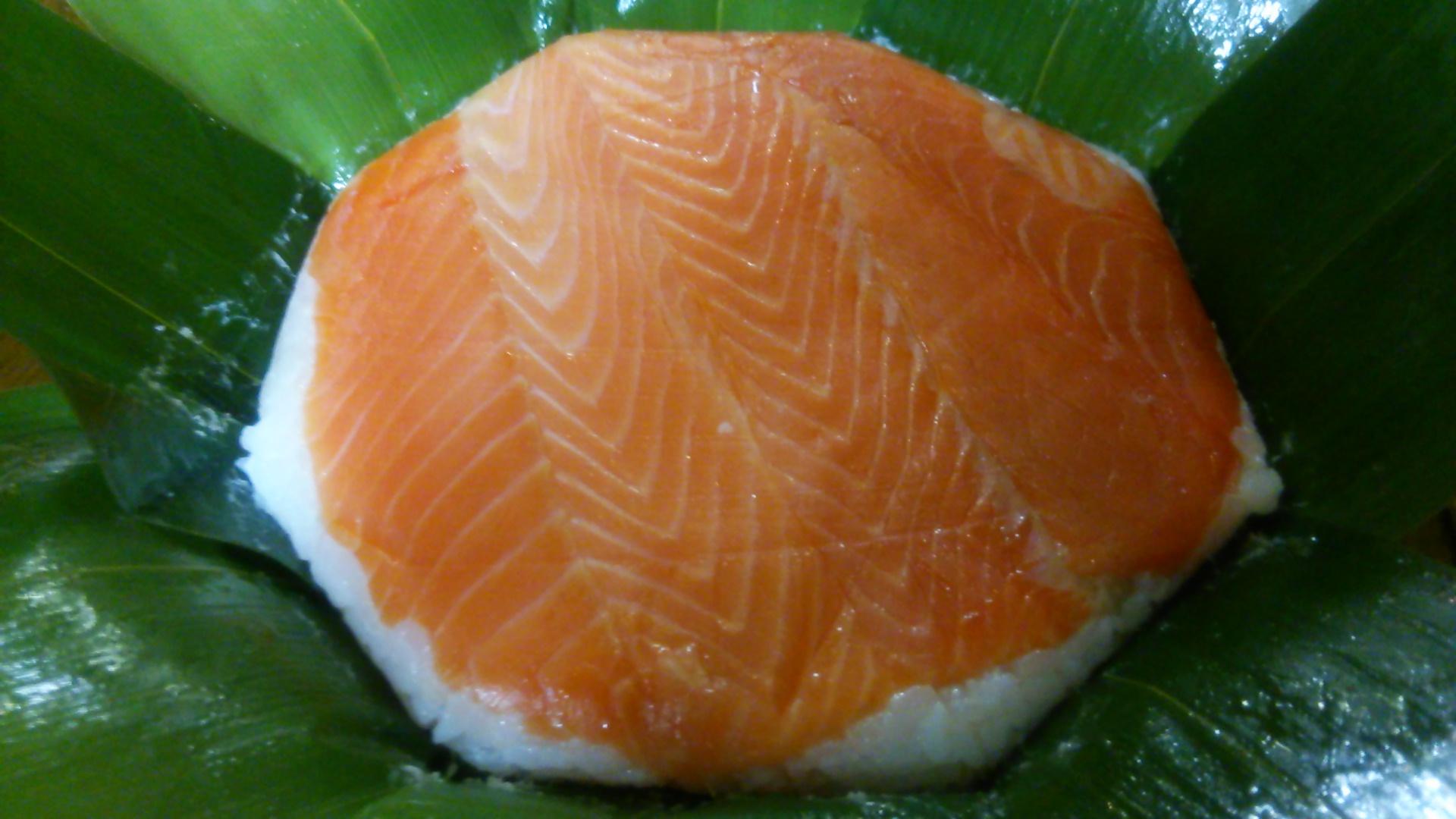 扇一の肉厚ます寿司