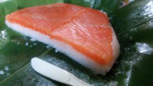 ます寿司断面