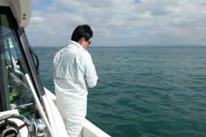 海釣りスタート