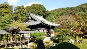 紅葉前の高台寺