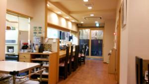 福寿司店内