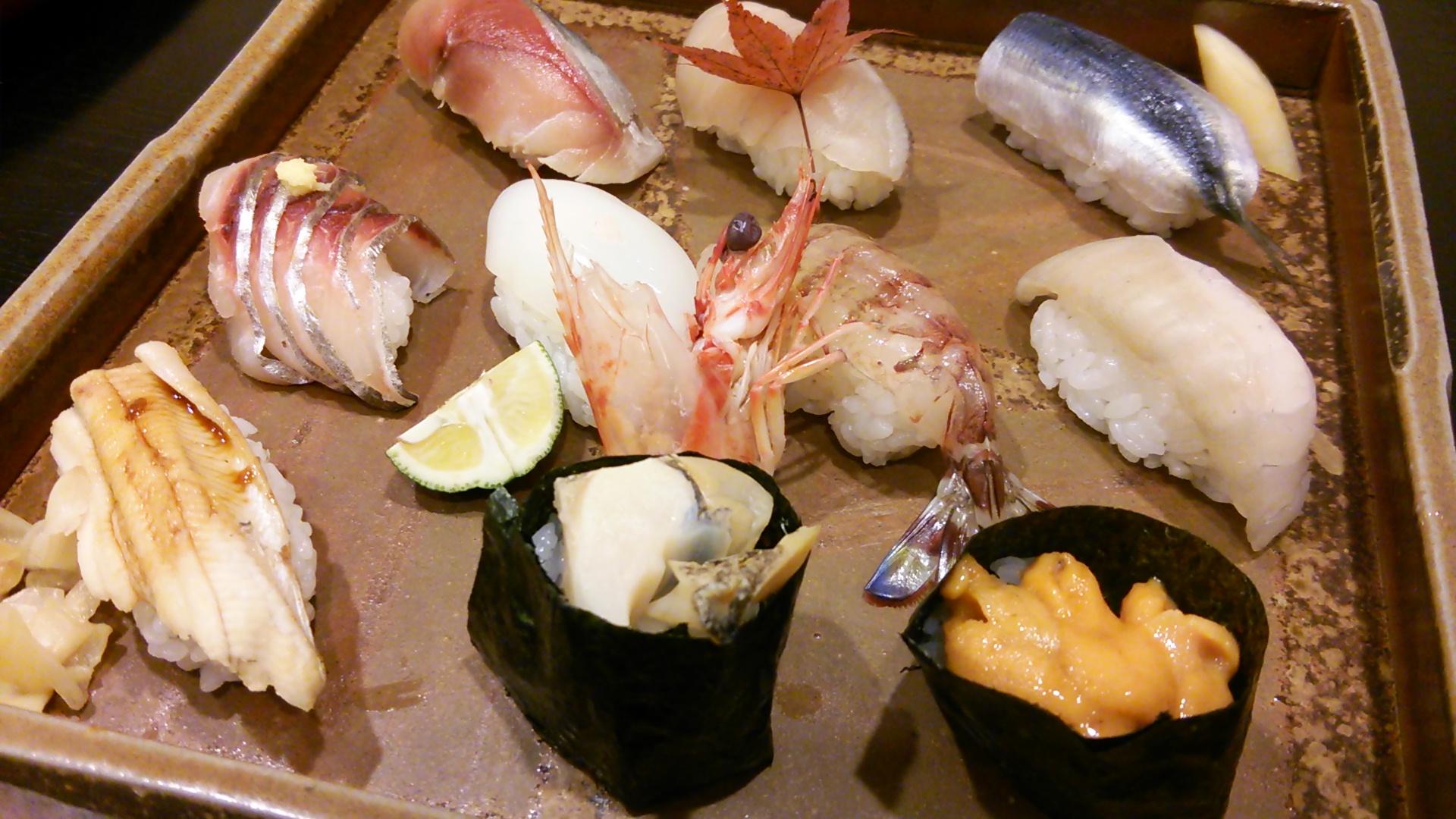 福寿司で岡山のお寿司を堪能!