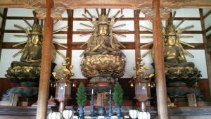 大伝法堂 仏像