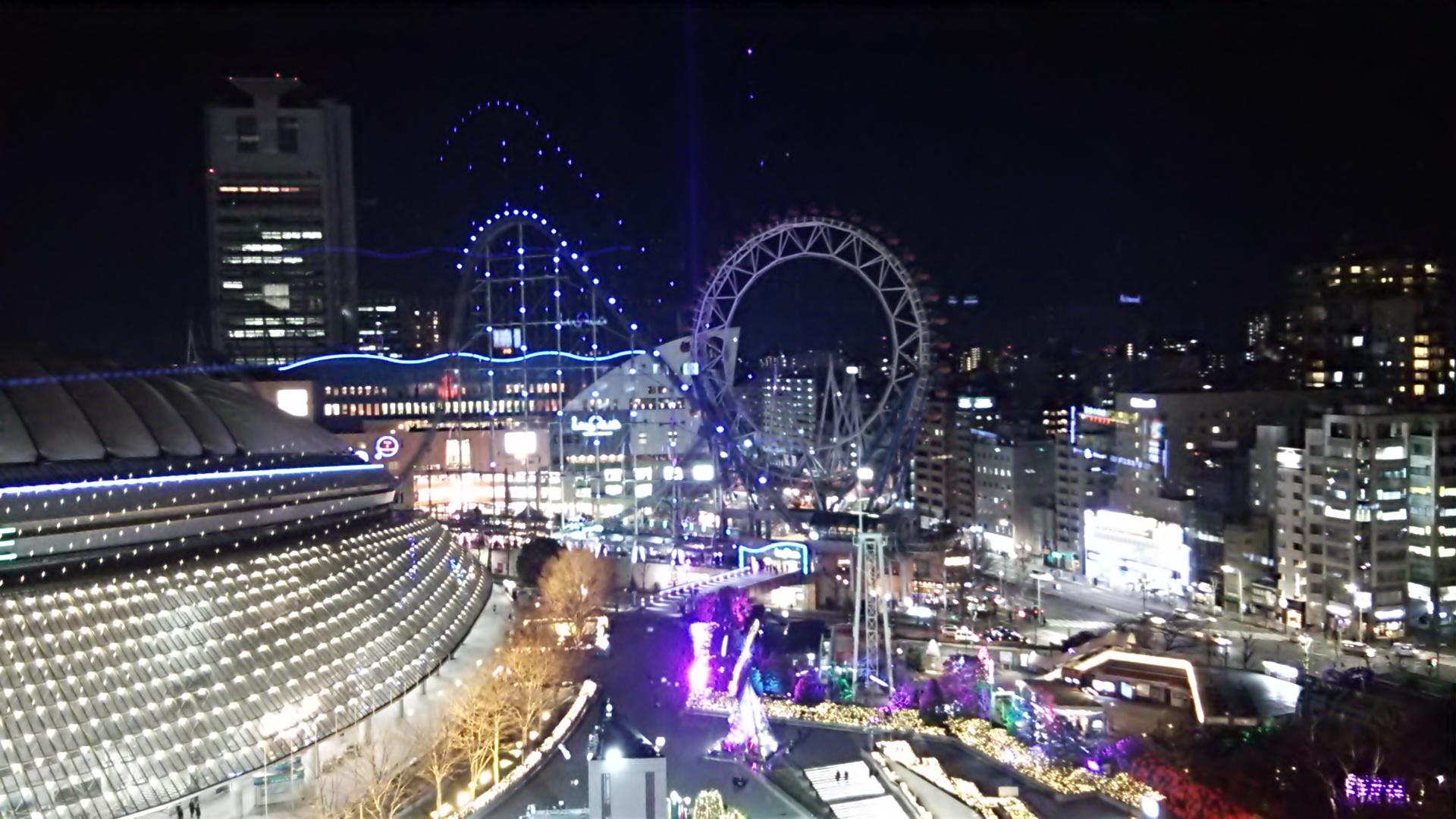 東京ドームホテルからの夜景