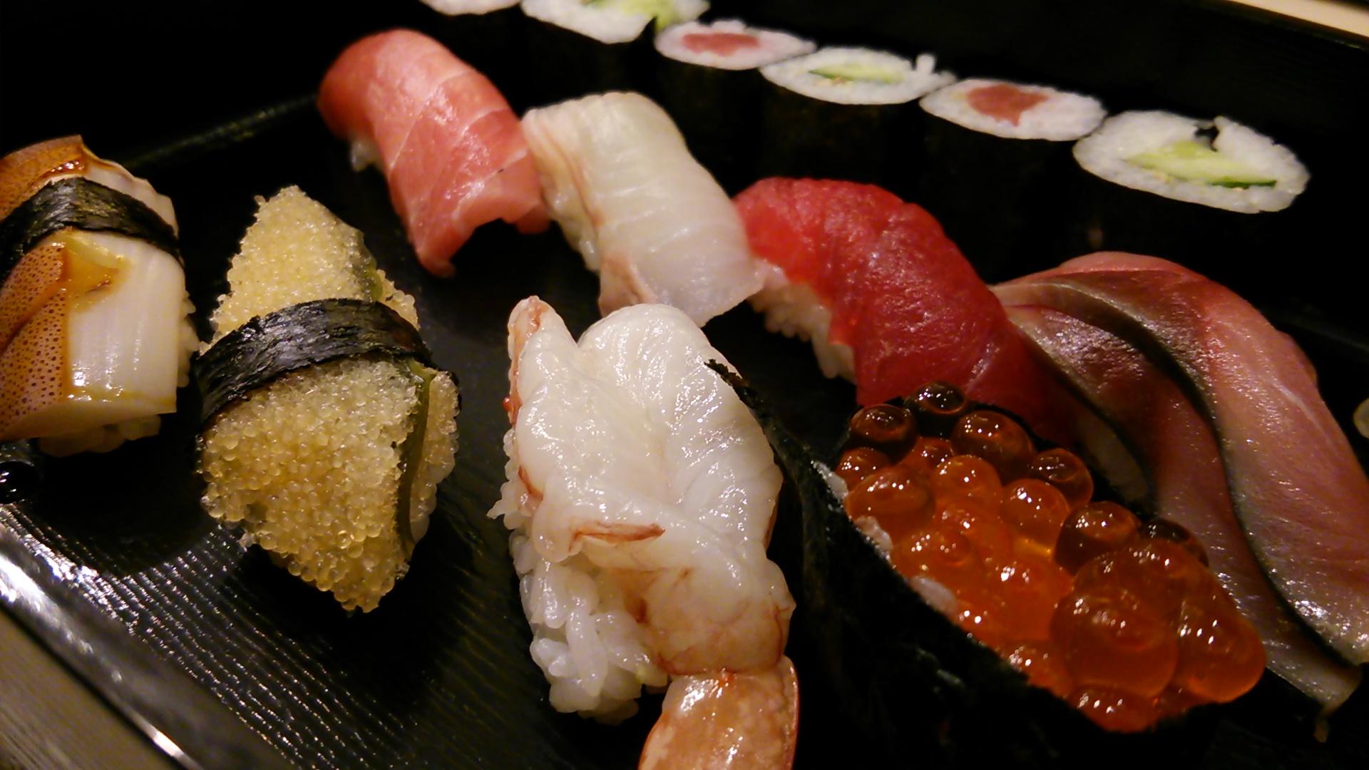 江戸時代で築地のお寿司