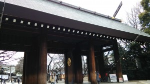 靖国神社神門