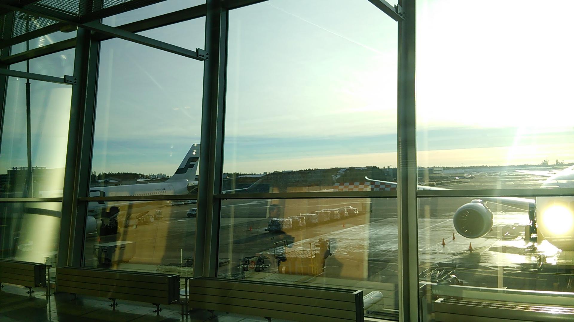 今度はヘルシンキ空港でトラブル