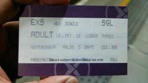 ヒースローエクスプレスのチケット
