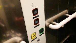 パディントン駅のエレベータ