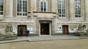 大英博物館裏口
