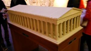 パルテノン神殿模型