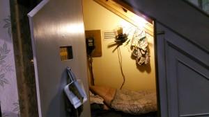 ハリーの寝室