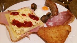 ロンドン2日目朝食