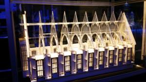 ホグワーツの食堂模型