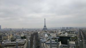 凱旋門からの風景
