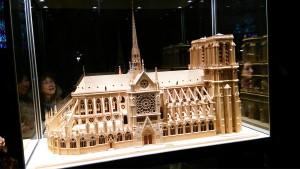 ノートルダム大聖堂模型