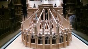 ノートルダム大聖堂の模型