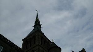 モンサンミッシェルの頂上
