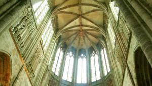修道院付属教会の天井