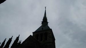 回廊からの尖塔