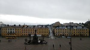 ヘルシンキ大聖堂からの景色