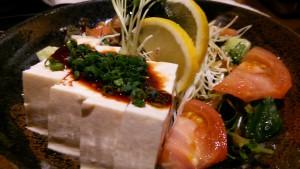 韓国風豆腐サラダ
