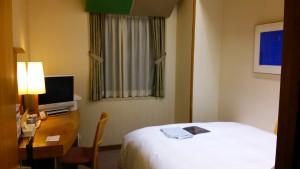 コートホテル福岡天神 ベッド