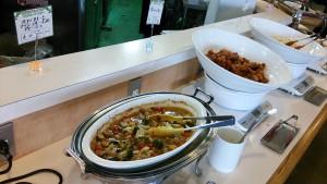 ブロッコリーとマッシュルームのアヒージョ