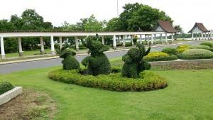 象の生け垣