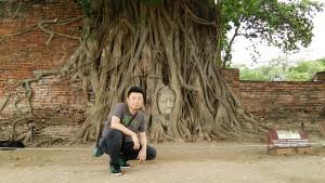 仏像と写真