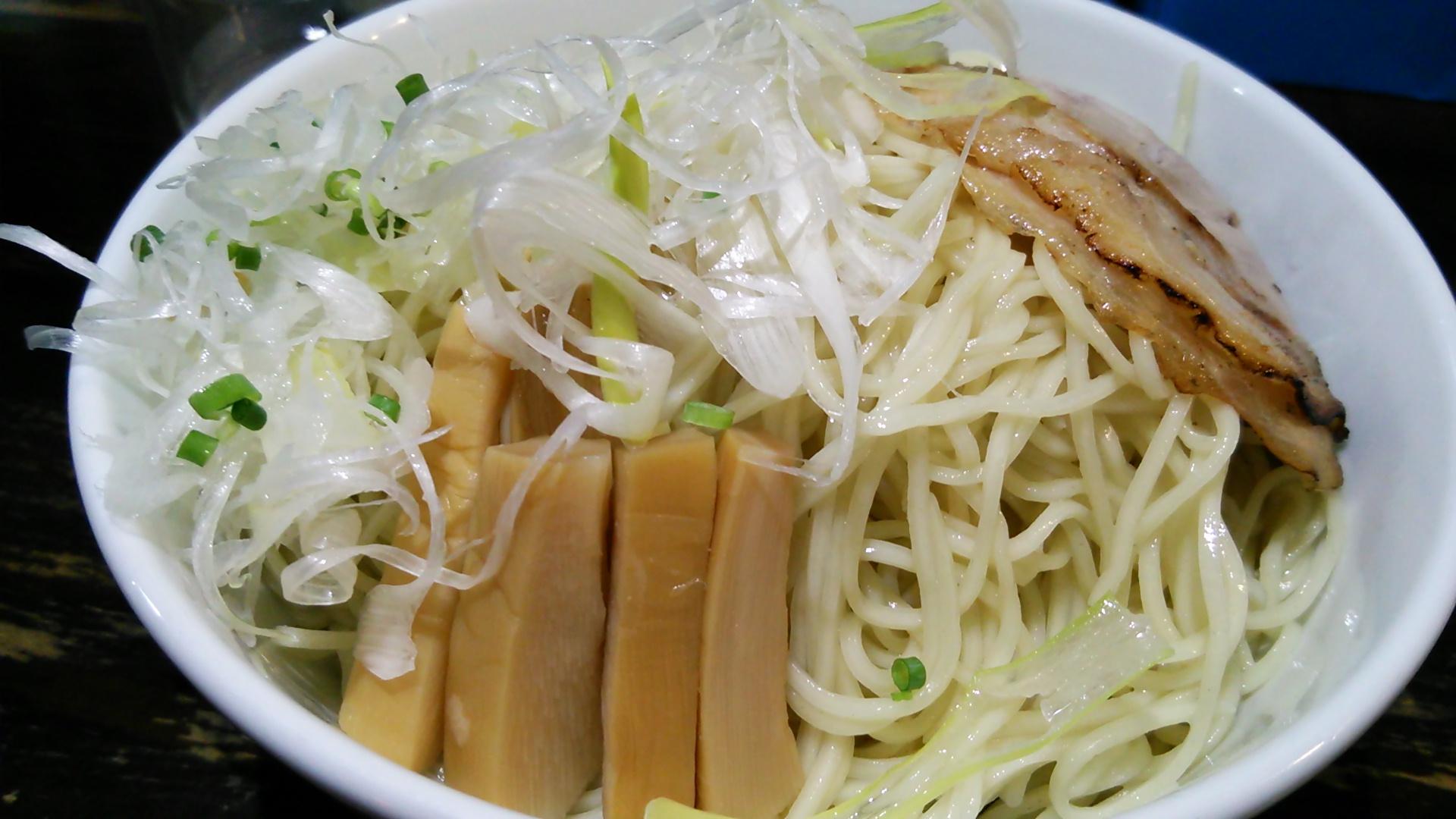 海鳴のつけ麺が九州旅行の〆