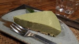 幸運豆腐お抹茶ぷるぷるチーズケーキ